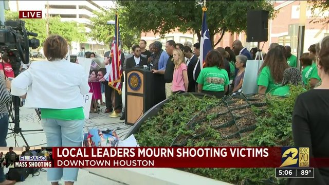 Local Leaders Mourn Shooting Victims