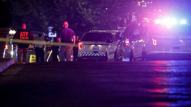 Second mass shooting in less than 24 hours kills 9 in Dayton, Ohio