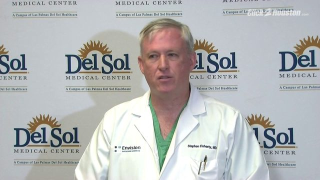 Hospital officials give update on El Paso victims