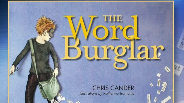 Thief steals cases of books about burglers
