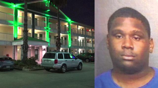 Woman found dead in motel room