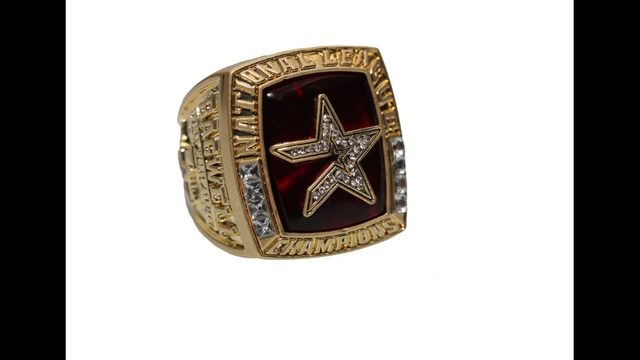 You could also be sporting an Astros championship ring -- sort of