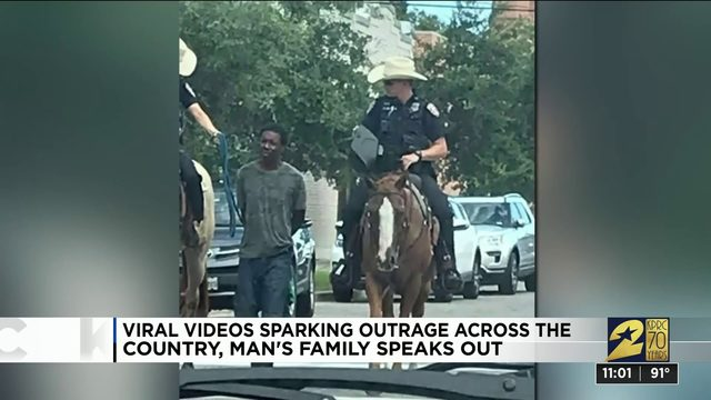 Viral video sparking outrage across the country, man's family speaks out