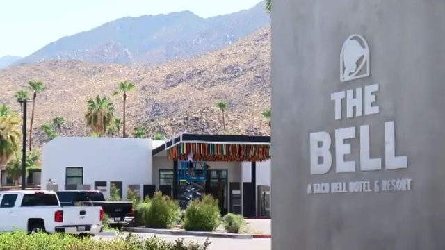 Taco Bell takes over California resort: This is what chain's superfans…