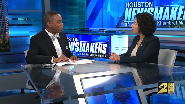 Newsmakers for Aug. 11: Harris County judge, HPD chief talk safety