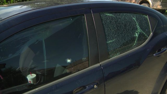 Woman's car shot during possible road rage incident in northwest Harris County