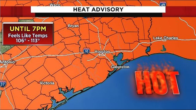 Dangerously high heat expected, heat advisory extended