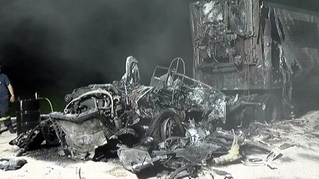 Atascocita firefighter killed in fiery head-on crash with 18-wheeler