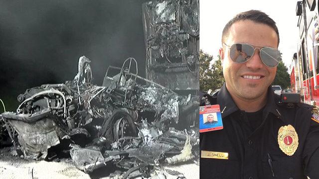 Atascocita firefighter killed in fiery head-on crash with 18-wheeler