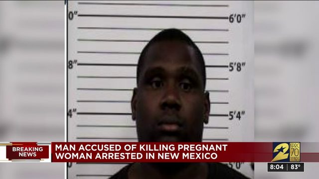 Man accused of killing pregnant woman arrested in New Mexico