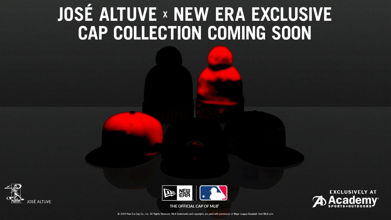 Jose Altuve to launch new hat collection, have private