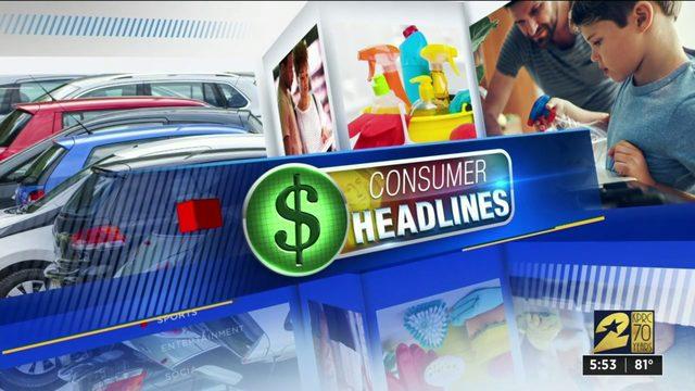 Consumer headlines for Aug. 13, 2019