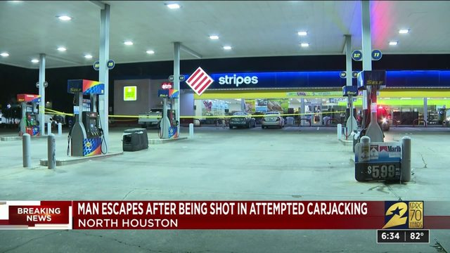 Man injured during attempted carjacking in north Houston