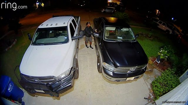 Man wanted after several car break-ins