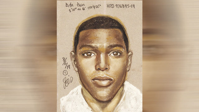 Sketch released of suspect connected to several armed robberies in Houston