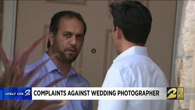 Complaints against wedding photographer