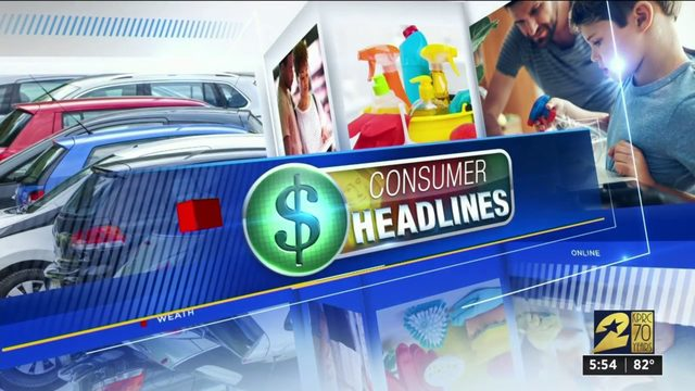 Consumer headlines for Aug. 14, 2019