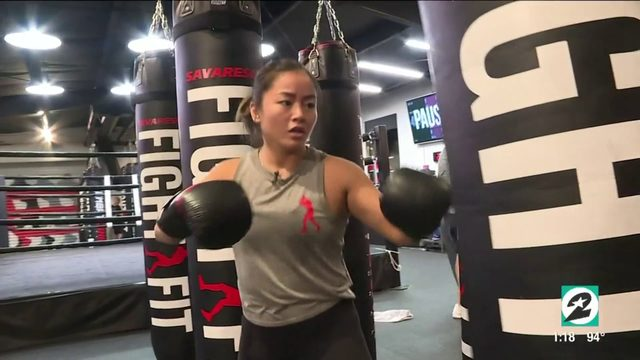 Houston MMA fighter Bi Nguyen empowers women at local gym |  HOUSTON…