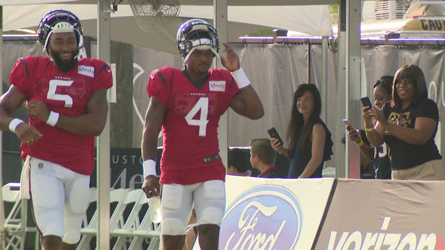 Camp Texans 2019: 'We put in work, so we expect the results'