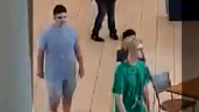 Video shows 2 persons of interest sought by police in Memorial City Mall havoc