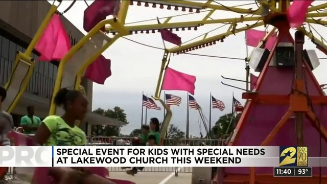 'Walk and Roll' special event at Lakewood Church.