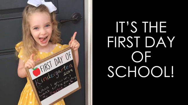 5 photos that demonstrate the beauty, the pain of the first day back to school