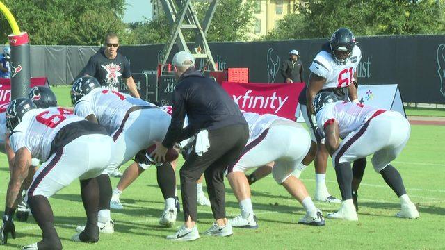 Camp Texans 2019: Offensive line focused on improvement, versatility