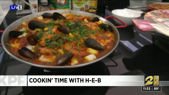 Cookin' time with H-E-B: Paella