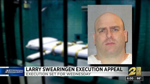 Larry Sweraingen execution appeal