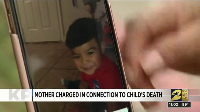 Mother charged in connection to child's death