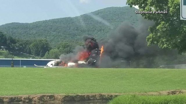 Dale Earnhardt Jr.'s plane crashes on Tennessee airport runway, sister says