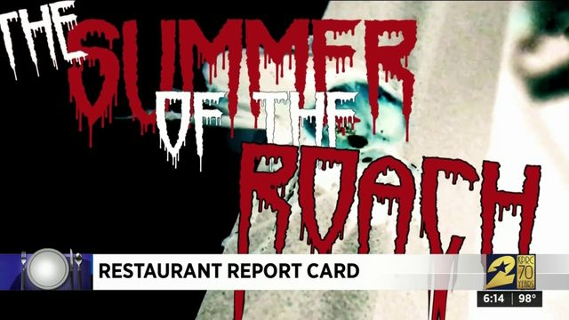 Restaurant Report Card: Aug. 15, 2019