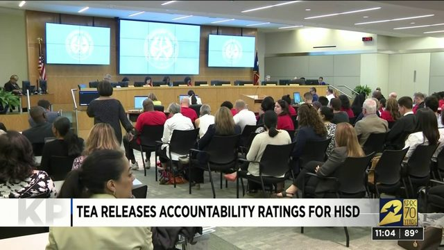 TEA releases accountability ratings for HISD