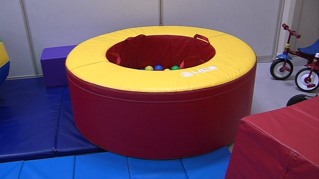 Germs and bacteria in ball pits