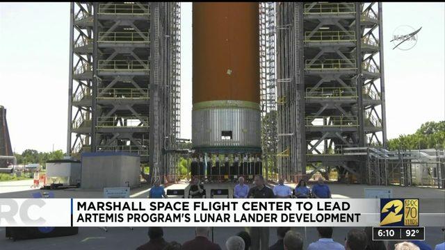 Marshall Space Flight Center to lead Artemis program's lunar lander development