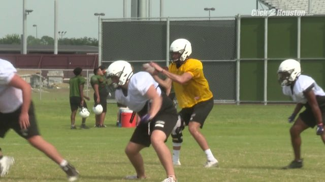 Pearland High School football team prepares for upcoming season