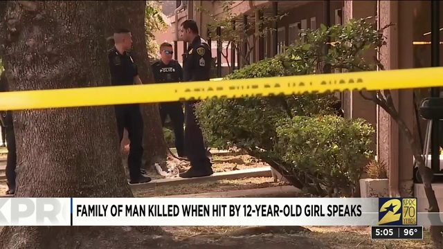 Family of Man Killed When Hit by 12-Year-Old Girl Speaks