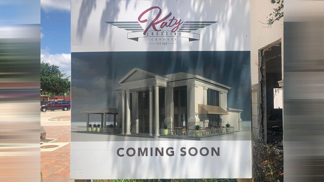 Katy Crossing Icehouse plans 2019 opening in former bank building