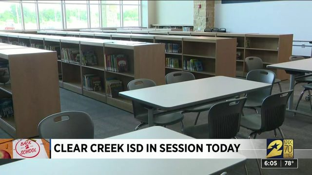 Clear Creek ISD in session today