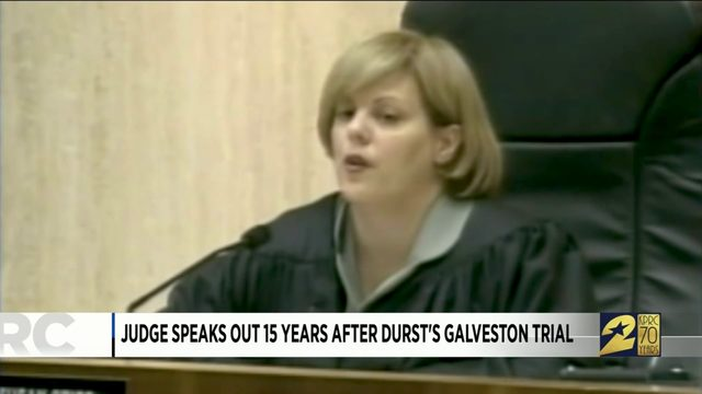 Judge speaks out 15 years after Durst's Galveston trial