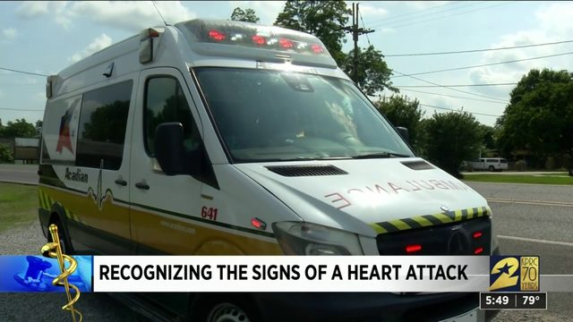Recognizing the signs of a heart attack