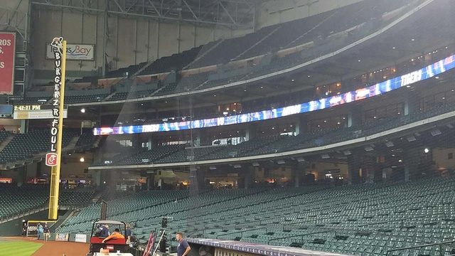 Protective netting extended at MMP