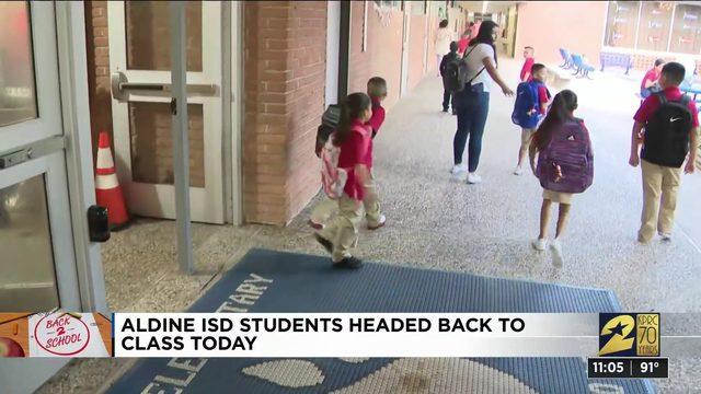 Aldine ISD headed back to school