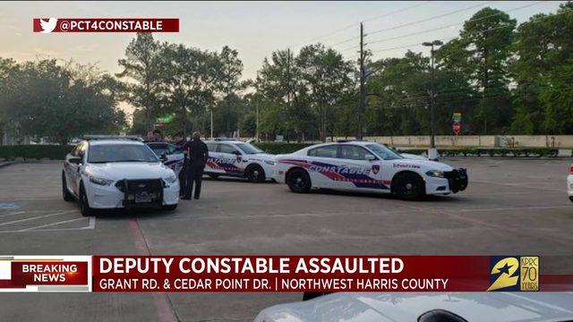 Deputy constable assaulted