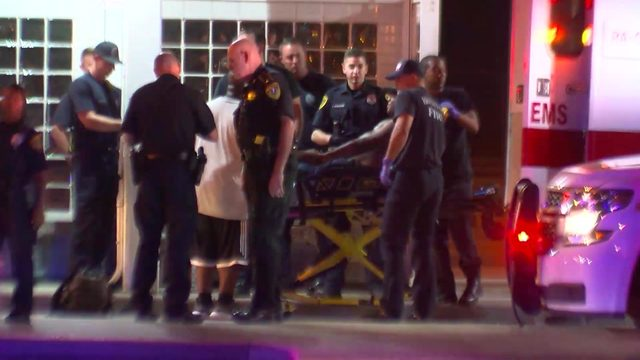 Deputy constable shot after man opens fire during traffic stop, authorities say