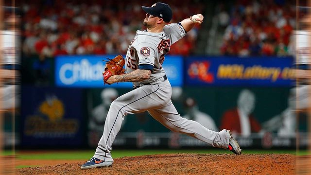 Astros All-Star reliever Ryan Pressly headed to IL, to undergo knee…