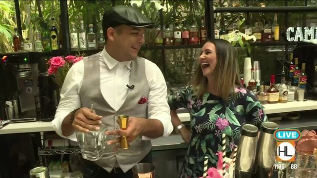Inside Secret Garden Bar at Houston's Bravery Chef Hall | HOUSTON LIFE | KPRC 2