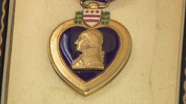 Retired Marine tracks down family to return Purple Heart found in pawn shop
