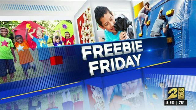 Freebie Friday for Aug. 23, 2019