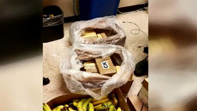 $1M in cocaine found in boxes of bananas in 3 stores